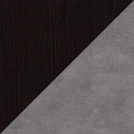 Венге-Бетон серый