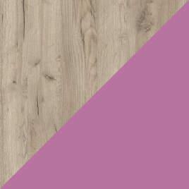 Дуб серый-Розовый